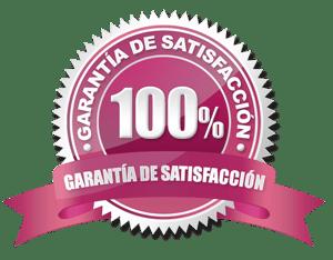 garantía de calidad, 100% satisfacción