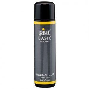 lubricante silicona básico pjur 100 ml - lubricantes sexuales - sexshop online tienda erotica santubearsex