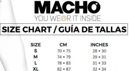 tabla tallas lenceria masculina para el hombre sexshop online santubearsex