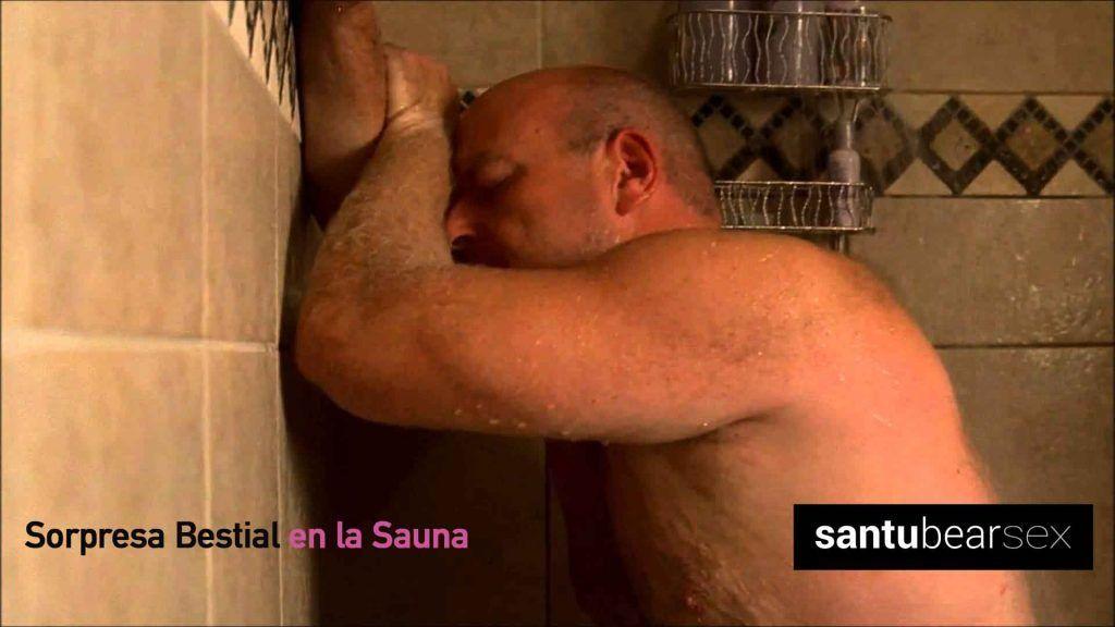sorpresa bestial en la sauna - relato erótico - blog de santu