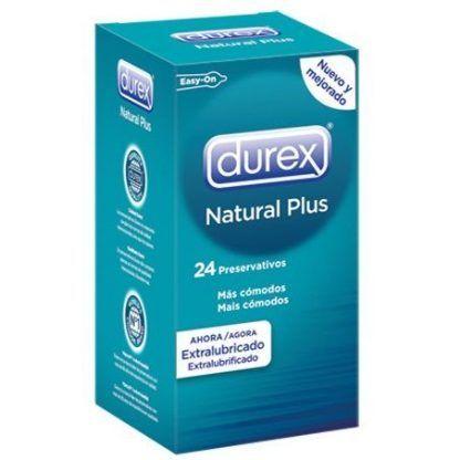 preservativos natural plus durex caja 24 unidades condones sexshop online y tienda erotica santubearsex