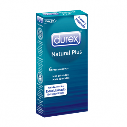 preservativos natural plus durex caja 6 unidades de venta en sex shop online santubearsex