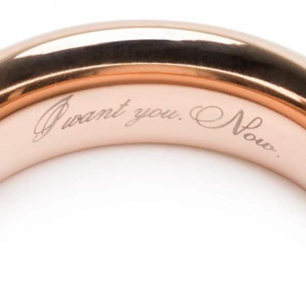 el señor de los anillos - cockring - anillo pene vista detallada del interior del anillo