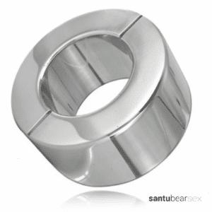 anillo testicular metal hard de 30 mm de ancho de venta en tienda erotica de santu