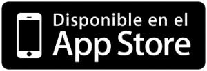 logotipo de disponibilidad del enlace en el app store de apple de la aplicación para las bolas kegel vibración We-Vibe