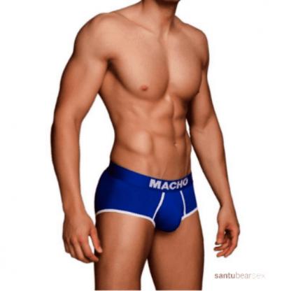 ropa interior hombre color azul o rojo de la marca macho, de venta en el sex shop de santu