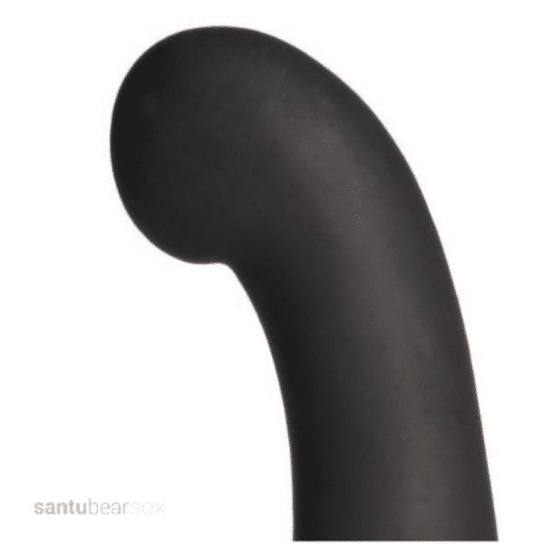 vibrador conejito punto g femenino cincuenta sombras de grey, vista en primer plano de la punta del vibrador