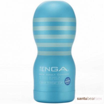 garganta profunda cool masturbador masculino de la marca Tenga