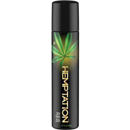 lubricante cannabis natural wet en formato de 30 ml, de venta en el sex shop de santu