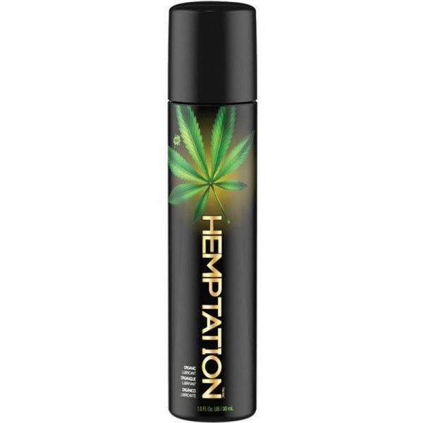 lubricante cannabis natural wet en formato de 30 ml, de venta en el sex shop de santu