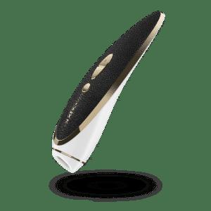 vibrador femenino haute couture de la marca satisfyer luxury imagen flotando del vibrador, de venta en el sex shop online de santu
