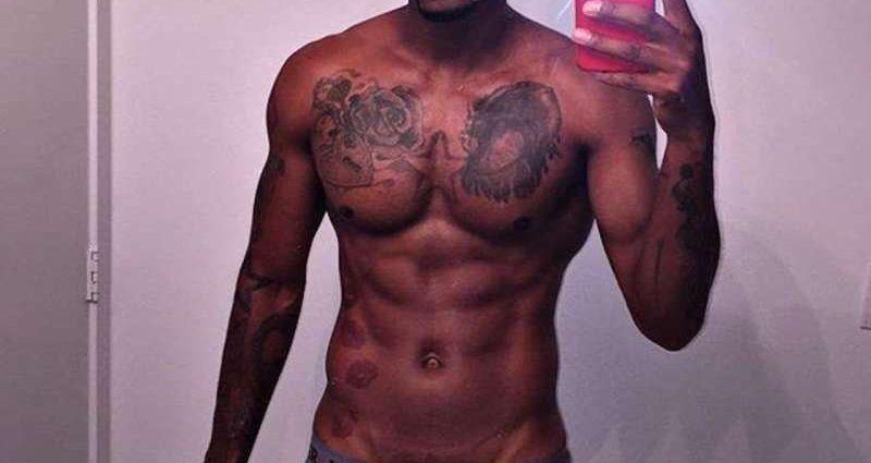torso desnudo de hombre tatuado en el sexshop online de Santubearsex