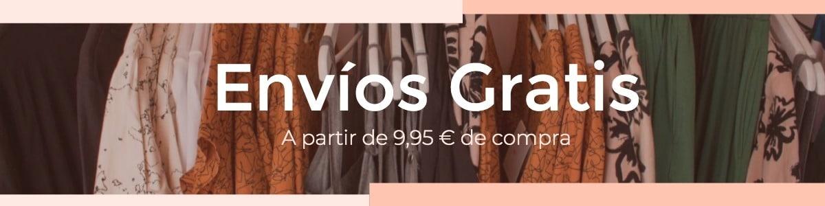 envíos gratis en compras superiores a 9,95 euros en el sex shop online de santu
